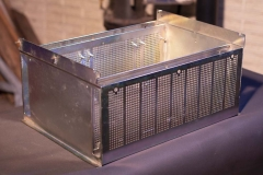 Metal Box With Vent Holes | Guzman Manufacturing