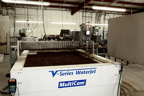 MultiCam V-Series WaterJet Cutting Services| Dallas, TX